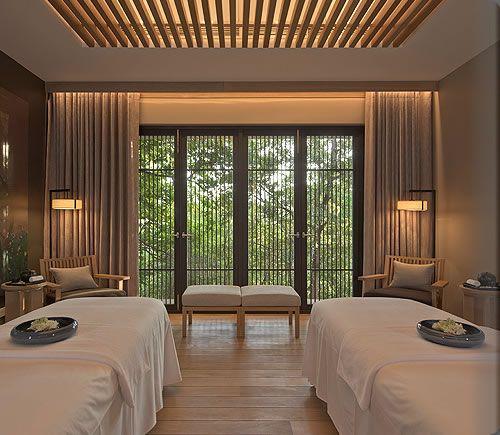 Chambre zen ambiance massage et tradition feng shui