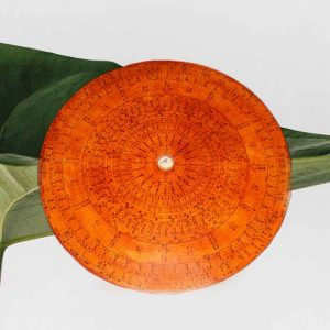 Boussole Lo Pan orange Feng Shui